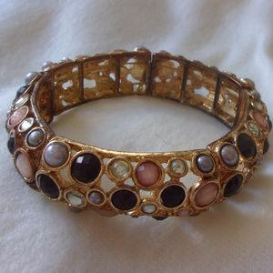 stretch bangle bracelet